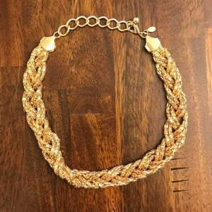 Express Braided Gold Necklace